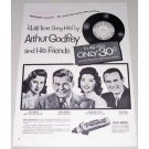 1955 Pepsodent Toothpaste Vintage Print Ad - Arthur Godfrey + Others
