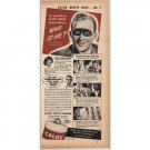 1940 Calox Tooth Powder Vintage Print Ad Celebrity Bing Crosby