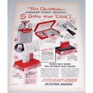 1948 Schick Injector Blades Color Print Ad - Gifts That Click