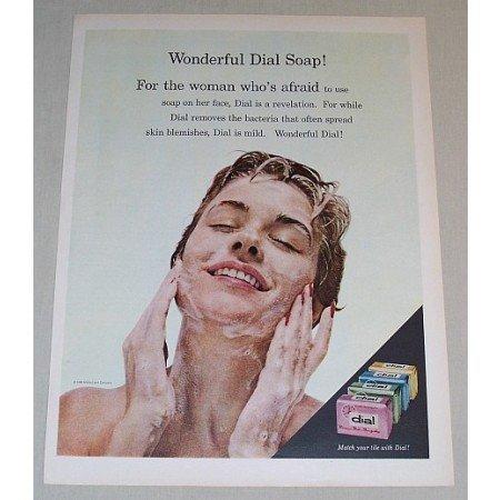 1958 Dial Soap Color Print Ad - Wonderful Dial Soap!