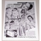 1939 Lux Toilet Soap Vintage Print Ad Celebrity Dorothy Lamour