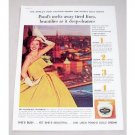 1960 Pond's Cold Cream Color Print Ad - Meg Westergren