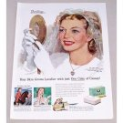 1947 Camay Soap Wedding Art Color Print Ad - Thrilling