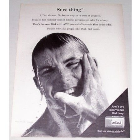 1962 Dial Beauty Soap Vintage Print Ad - Sure Thing