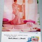 1958 Scot Soft-Weve Bath Tissue Color Print Ad