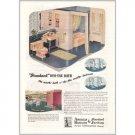 1945 American Standard Sanitary Bath Color Print Ad