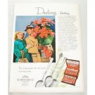 1948 Color Print Ad for 1881 Rogers Oneida Silverplate Flatware