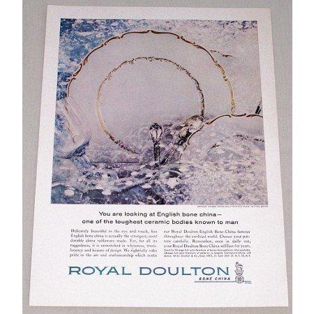 1962 Royal Doulton Richelieu Bone China Color Print Ad
