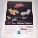 1957 Niagara Living Furniture Color Print Ad