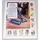 1947 Universal Vacuum Cleaner Vintage Color Print Ad