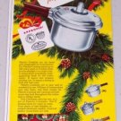 1947 Presto Cookers Vintage Color Print Ad