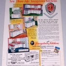 1954 Diana-Style Youngstown Steel Kitchens Color Print Ad