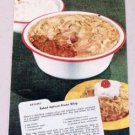 1948 Enameledware Kitchenware Color Print Ad