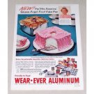 1956 Wear Ever Aluminum Cookware Color Print Ad Mrs. America