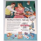 1954 Reynolds Wrap Aluminum Foil Color Print Ad