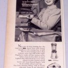 1949 Kapp Monarch Speed Iron Small Appliance Vintage Print Ad Celebrity Shirley Temple