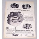 1948 Maytag Wringer Washer Vintage Print Ad 3 Simple Ways