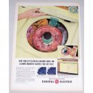 1956 General Electric Filter Flo Washer Color Print Ad