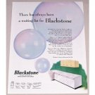 1952 Blackstone Home Laundry Appliances Color Print Ad