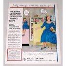 1960 Frigidare Model FPI-13T-60 Refrigerator Color Print Ad