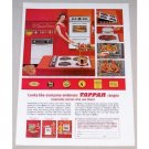 1962 Tappan Ranges Color Print Ad - Everyone Endorses