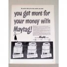 1948 Maytag Master Commander Chieftain Wringer Washer Vintage Print Ad