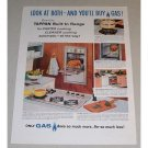 1958 Tappan Built-In Range Color Print Ad