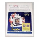 1947 Presteline Electric Range Color Print Ad