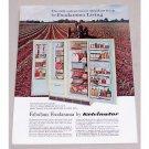 1960 Kelvinator Foodarama Deluxe Refrigerator Color Print Ad