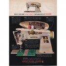 1961 Singer Slant-O-Matic 500 Sewing Machine Color Print Ad