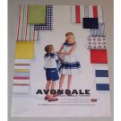 1958 Avondale Perma Pressed Cottons Color Print Ad
