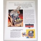 1954 Cutler Hammer Motor Control Color Print Art Ad Three Phase