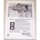 1953 Honeywell Electronik Funtion Plotter Vintage Print Ad