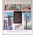 1961 Philidelphia Electric Company Color Print Ad