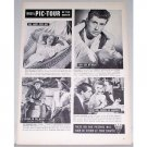 1948 RKO Radio Pic Tour Vintage Ad Celebrity Cary Grant + Others