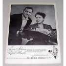 1946 RCA Vintage Print Ad - Opera Celebrity l. Albanese R. Merrill