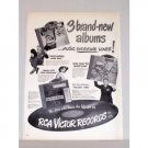 1948 RCA Victor Records Vintage Print Ad - Music Everyone Loves!