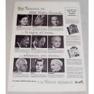 1948 RCA Victor Records Vintage Print Ad - New Treasures