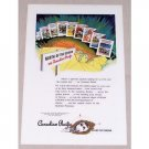 1946 Canadian Pacific Vacation Color Print Ad