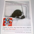 1960 Ken L Ration Dog Food Vintage Print Ad