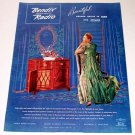 1945 Bendix Radio Phonograph Color Print Ad