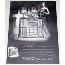 1948 Philco 1286 Radio Phonograph Vintage Print Ad