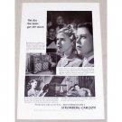 1946 Stromberg Carlson Radio Phonograph Vintage Print Ad