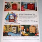 1953 Stromberg Carlson Panoramic Vision Televisions Color Print Ad