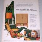 "1953 Stromberg Carlson The Empire 24"" Tube TV Color Print Ad"
