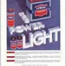 1931 Eveready Layerbilt B Dry Cell Battery Color Print Ad