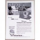 1957 Viewlex Powermatic Slide Projector Vintage Print Ad