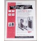 1953 Sun-Lite II Pocket Pak Speed Flash Vintage Print Ad