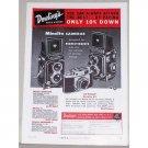1957 Minolta Autocord Cameras Color Print Ad