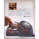 1966 Western Electric Bell Telephone Color Print Ad - Walla Walla